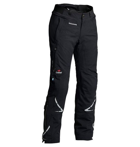 Halvarssons wish pants tekstilbukse svart