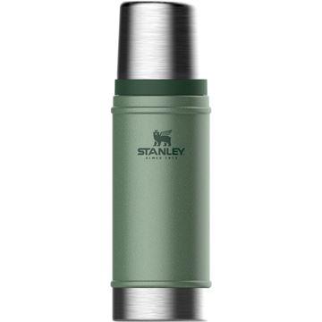 Stanley Termos Classic Vacuum Bottle Hammertone Green 0.47 liter turutstyr