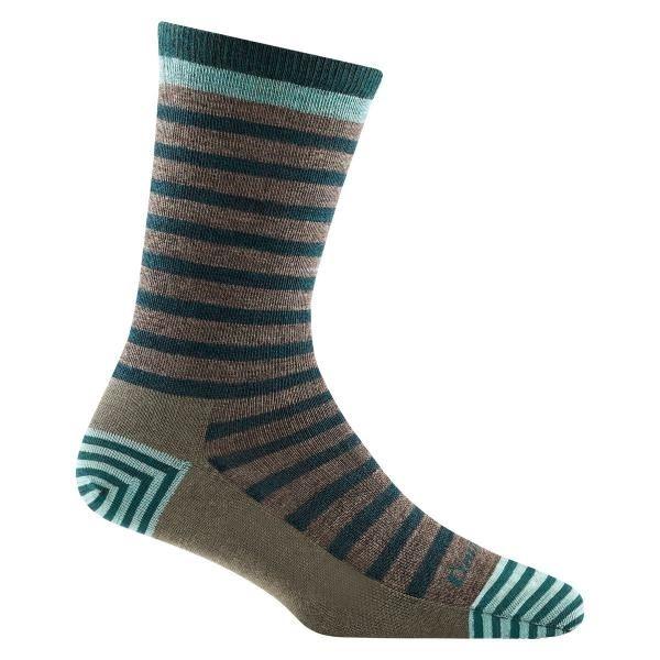 Darn Tough  ullsokker Morgan Crew Lightweight sokker taupe merinoull