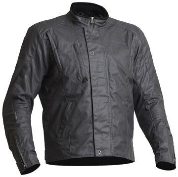 Lindstrands Fergus tekstiljakke Grafit mc-jakke